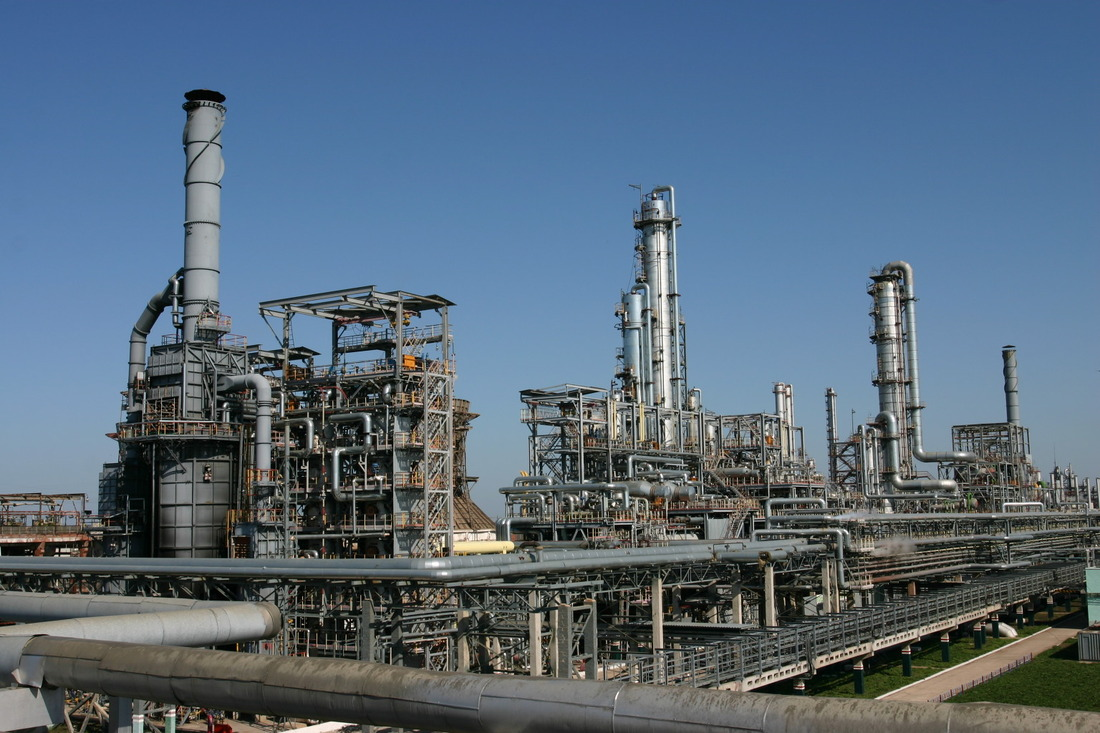 Ethylbenzene and Styrene Production Facilities of Monomer Plant