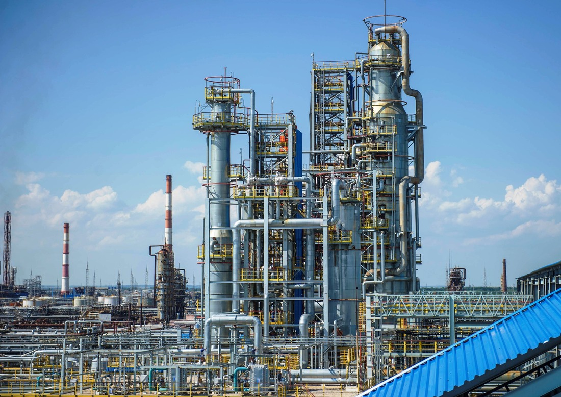 the Oil Refinery. ELOU- AVT-6 unit/