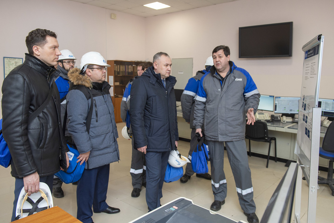 Visit of the Minister of Energy and Industry
