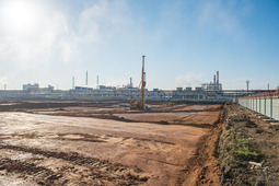 The Company starts construction of industrial sulphur plant