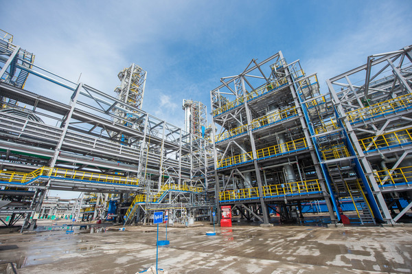 New isomerization unit of pentane-hexane cut introduced into process flow of Company